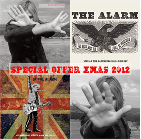 MIKE PETERS & THE ALARM BUNDLE 2012