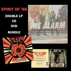 'SPIRIT OF '86' DVD / CD / VINYL BUNDLE