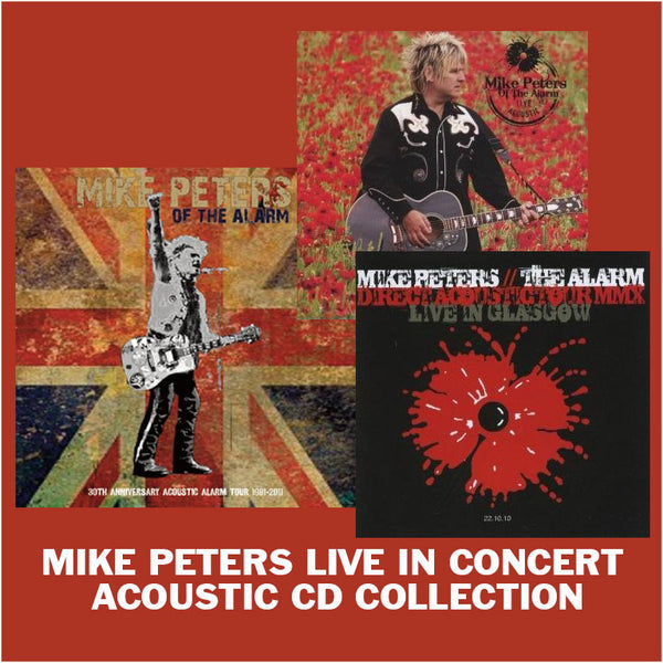 SPECIAL OFFER - Mike Peters - Live Acoustic Collection