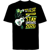 BRAND NEW - THE ALARM - BIG NIGHT IN - STAY UNSAFE 2020 T Shirt