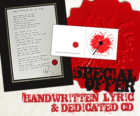 Lyric & Dedication Special Offer