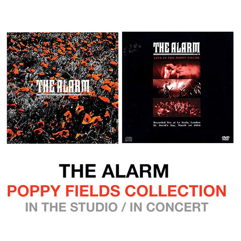 NEW - The Alarm - Poppy Fields Collection