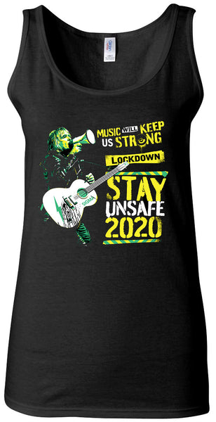 BRAND NEW - THE ALARM - BIG NIGHT IN - STAY UNSAFE 2020 Vest Top