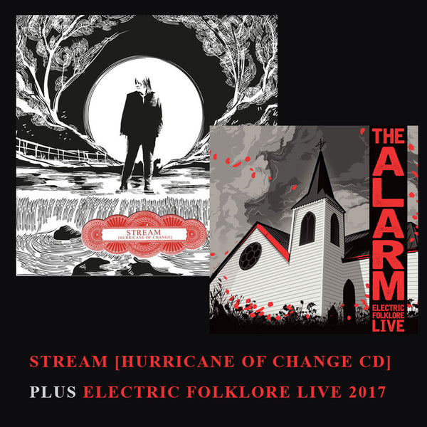 SPECIAL OFFER - STREAM [Hurricane of Change] DOUBLE CD EDITION plus ELECTRIC FOLKLORE LIVE 2017 CD