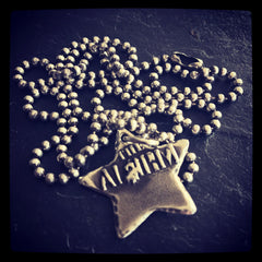 Alarm Star Necklace