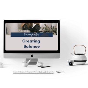 Creating Balance Online Course