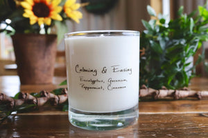 Calming & Easing: Aromatherapy Candle