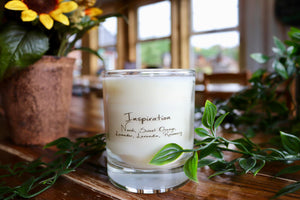 Inspiration: Eco Friendly, Aromatherapy Candle