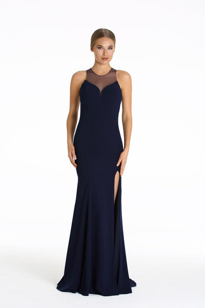 Navy Blue with Crystals on the Back and Tail