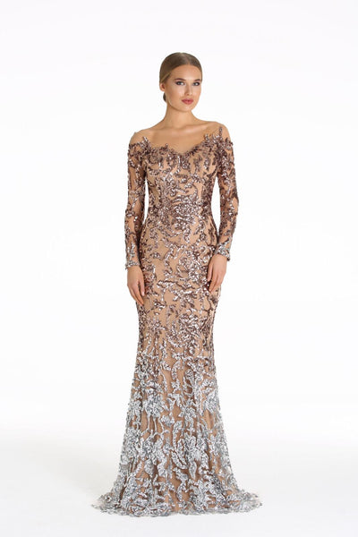 Full Sparkle Dress with Silver Bottom