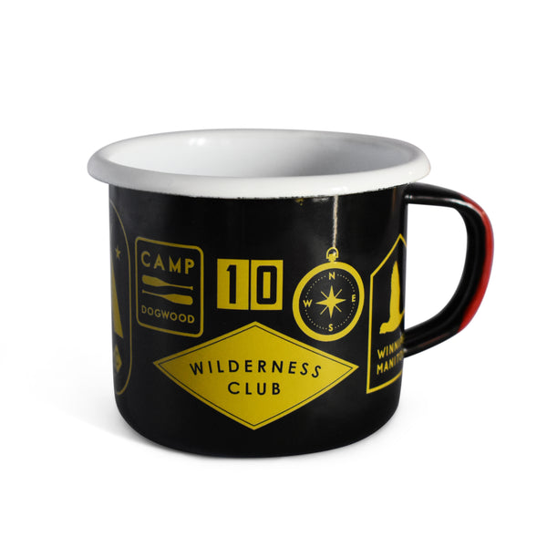 Wilderness Enamel Mug