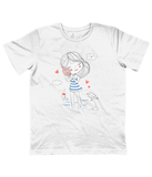 Children White Carbon Neutral T-Shirt