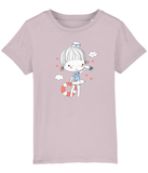 100% Organic Cotton | Cotton Pink Kids T-Shirt