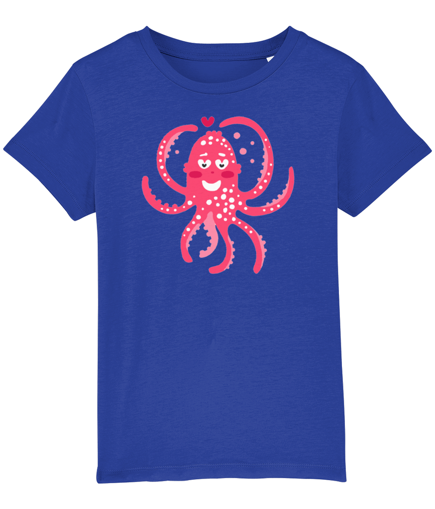 100% Organic Cotton | Royal Blue Kids T-Shirt