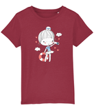 100% Organic Cotton | Red Kids T-Shirt