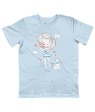 Children Light Blue Carbon Neutral T-Shirt