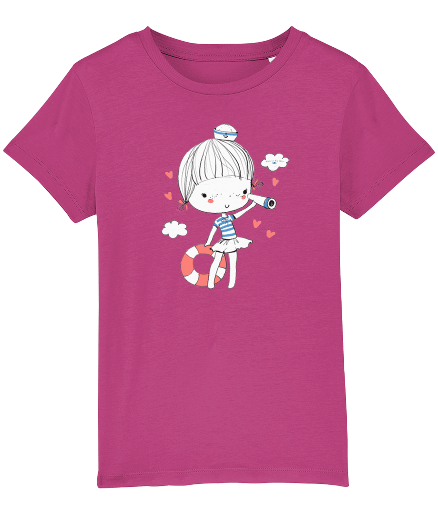 100% Organic Cotton | Raspberry Kids T-Shirt