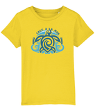 100% Organic Cotton | Golden Yellow  Kids T-Shirt