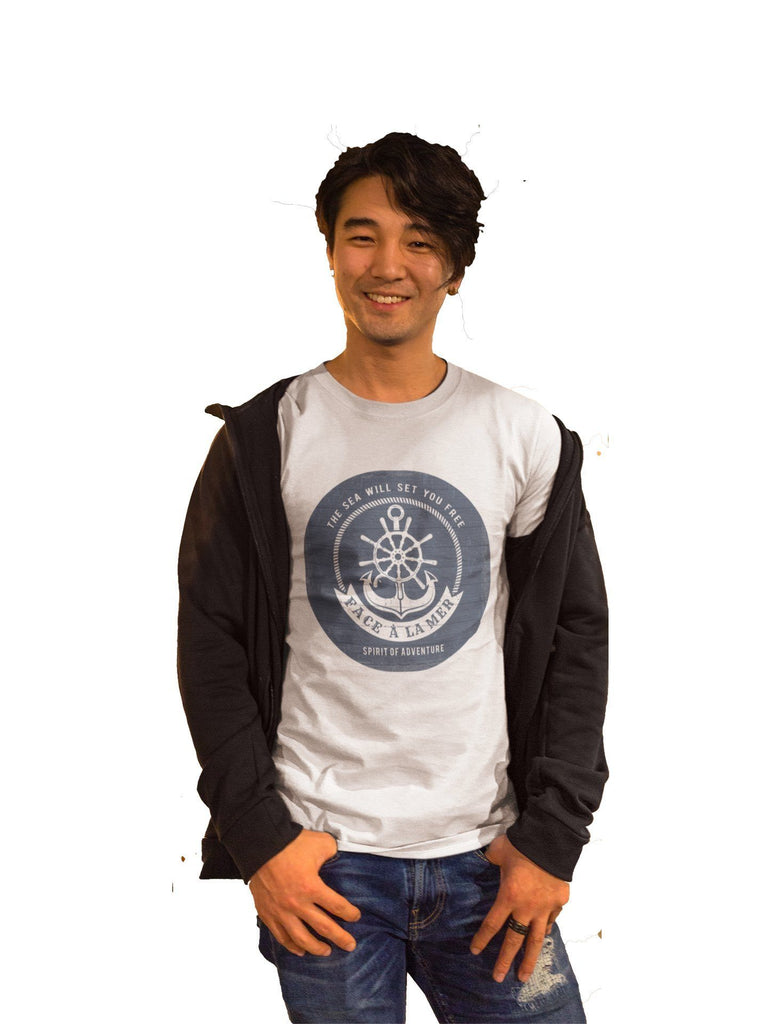 Organic EarthPositive Nautical Slim Fit T-shirt
