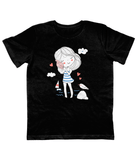Children Black Carbon Neutral T-Shirt