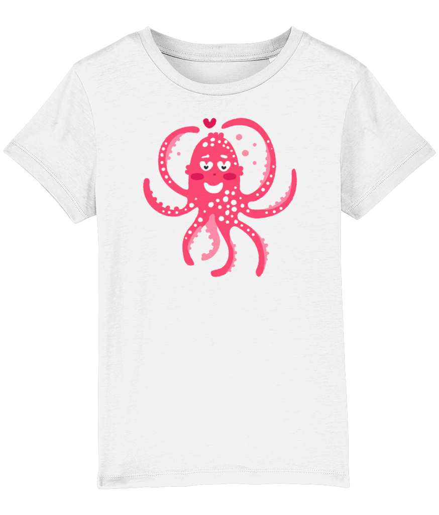 100% Organic Cotton | White Kids T-Shirt