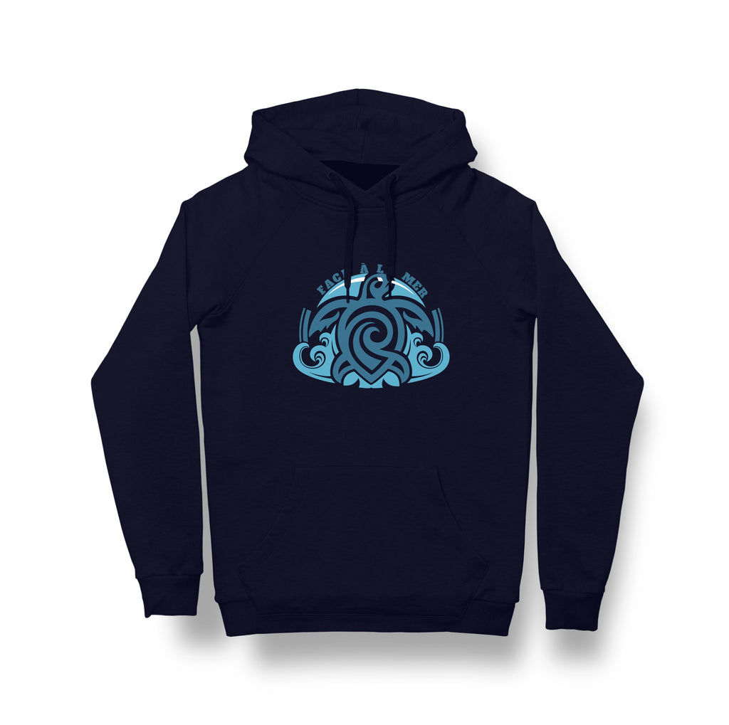 Organic Fairtrade Climate Neutral Navy Hoodie