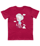 Children Hot Pink Carbon Neutral T-Shirt