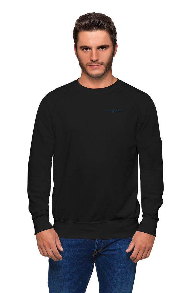 Organic Black Sweater