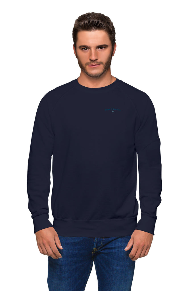 Organic Navy Sweater