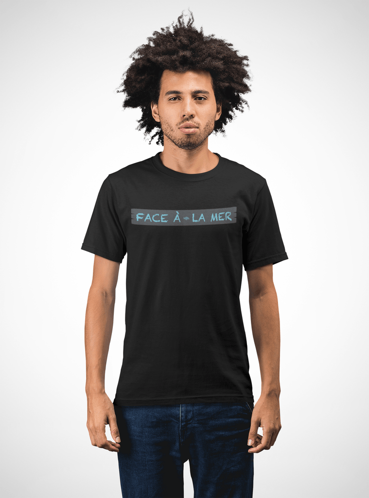 Men Carbon Neutral Black Organic T-Shirt