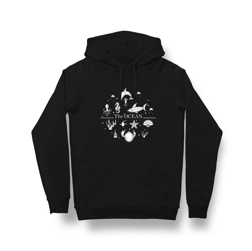 Organic Fairtrade Climate Neutral Black Hoodie