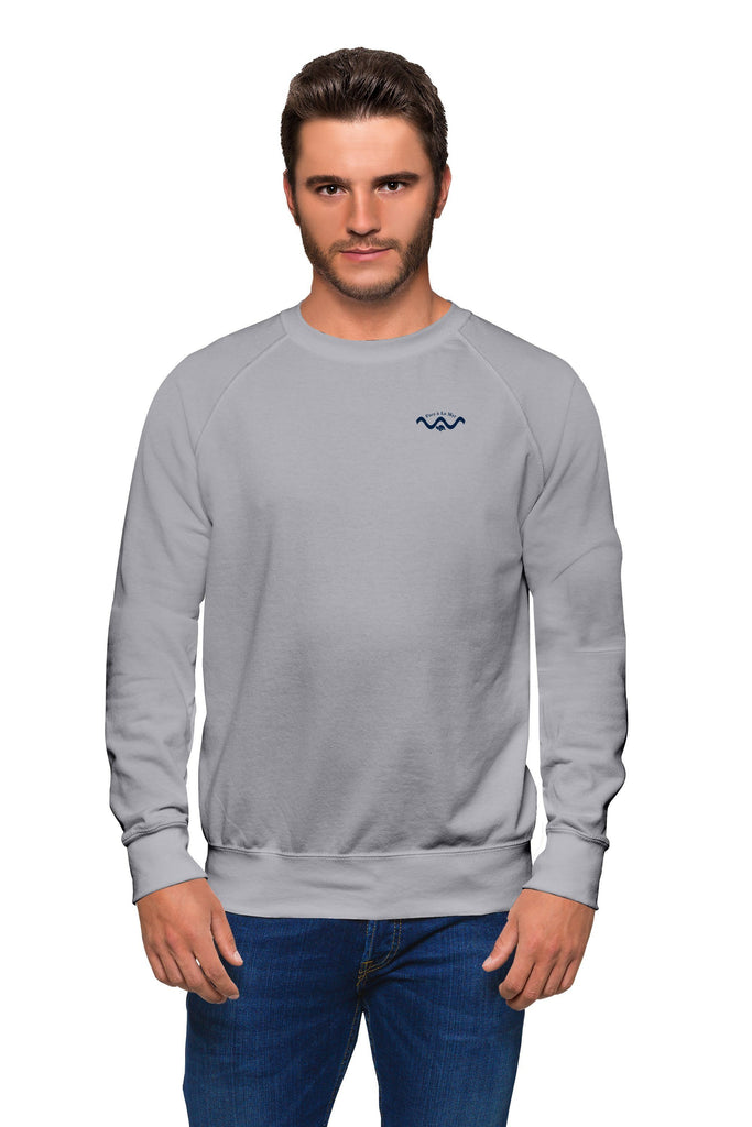 Organic Climate Neutral Light Heather Sweater