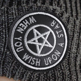 WISH UPON A STAR - Distressed Beanie