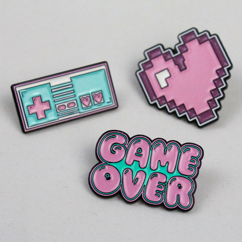 RETRO GAMER - Enamel Pin