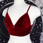 DRAGON BLOOD - Longline Bralette