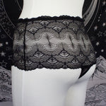 LACE STAY IN - High Waisted Thong