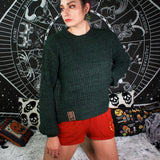 GETTIN' KNIT TOGETHER - Cable Knit Sweater
