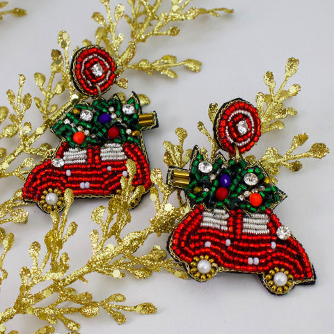 FAMILY TRADITIONS - Beaded Earrings