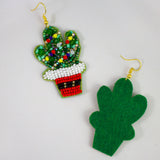 CALI XMAS - Beaded Earrings