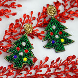 OH CHRISTMAS TREE - Beaded Earrings