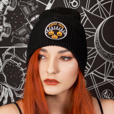 PUMPKIN PATCH - Distressed Beanie