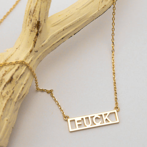 F*CK - Necklace