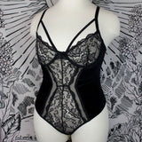 INKY VELVET -  Plus Bodysuit