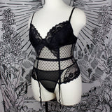 PUT A SPELL ON YOU - Plus Bustier Set