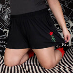 SNAKE IN THE GARDEN - Plus Lounge Shorts