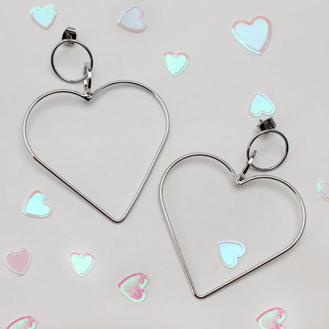 HEART'S DESIRE - Dangle Earrings