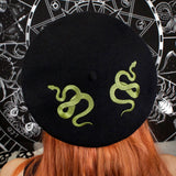 TWIN SERPENT - Beret