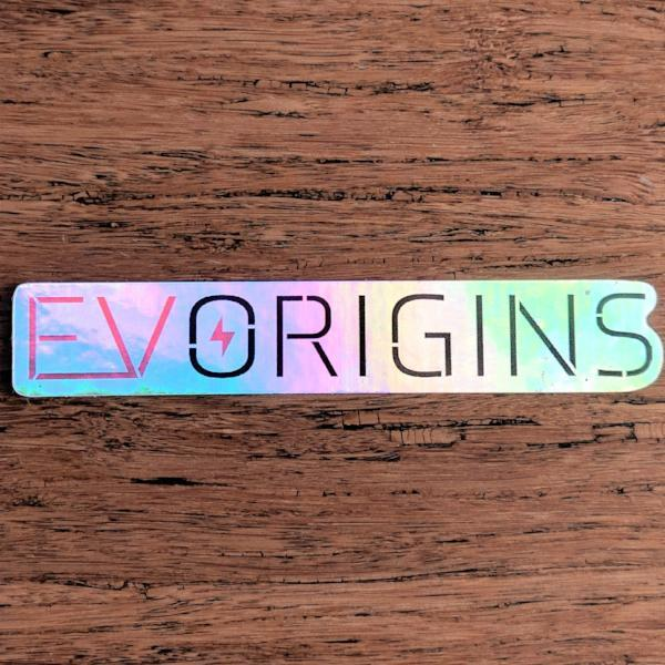EV Origins Holographic Logo Decal - EV Origins