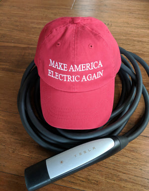 Make America Electric Again 6 Panel - EV Origins