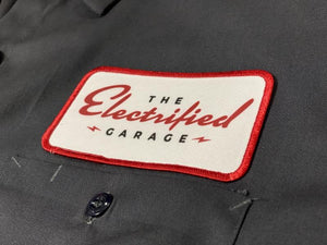 The Electrified Garage Mechanic Shirt - EV Origins